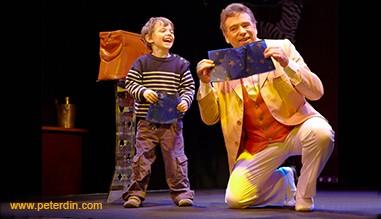 Peter Din le Magicien des Tout Petits